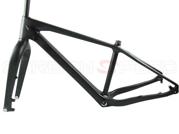 CS-N019 26er full carbon fat bike frame frame 150*15mm/190*10mm QR ...